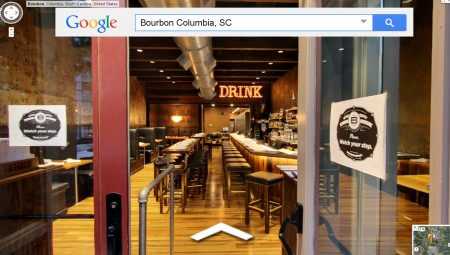 Bourbon 1214 Main Street Columbia SC Front Entrance 2014 GBV ColumbiaPics PANORAMA