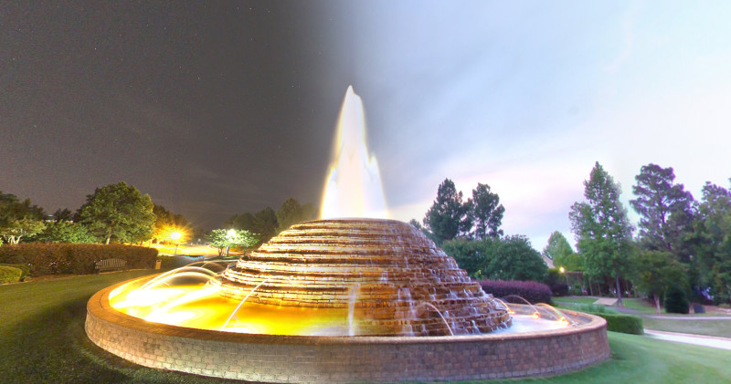 Lake Carolina Fountain ColumbiaPics Eric Blake SC